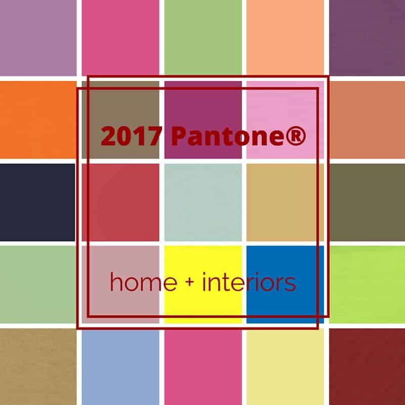 2017 pantone view home + interiors | mecc interiors inc.