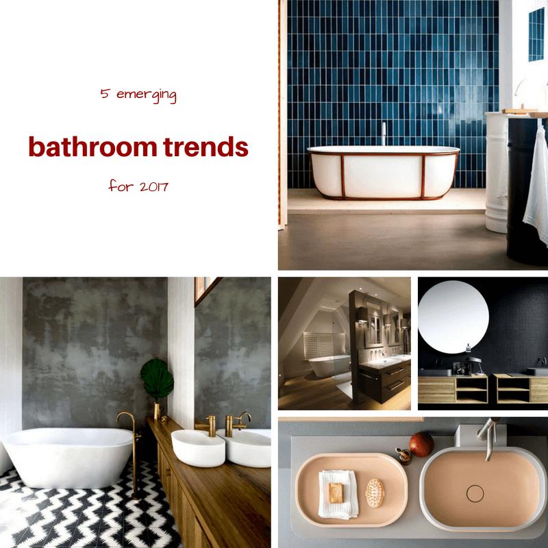 5 emerging bathroom trends for 2017 mecc interiors inc for Bathroom trends 2017 houzz