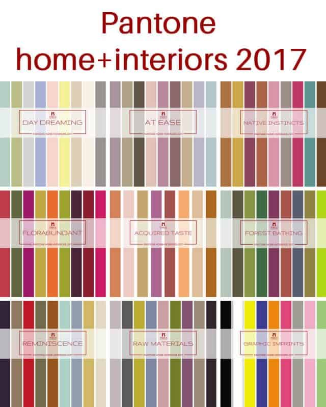 A More Detailed Look At Pantone 39 S Home Interiors 2017 Mecc Interiors Inc