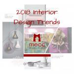 2018 interior design trends | @meccinteriors | design bites