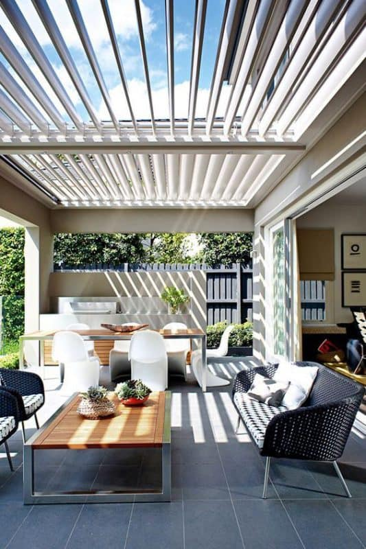 louvres may be the perfect solution for outdoor shading